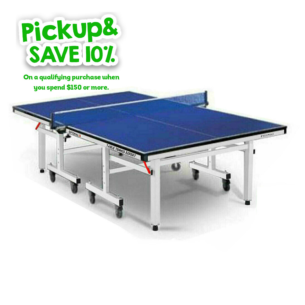 Display Model SYD201118C PRIMO16-P-AK 16MM Top Table Tennis Table SYD Store ONLY 1811