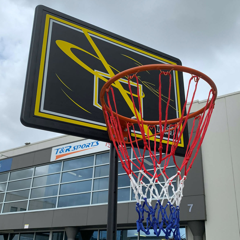Dunk Master S018F Basketball Stand System Hoop Ring Height Adjustable 2.10M