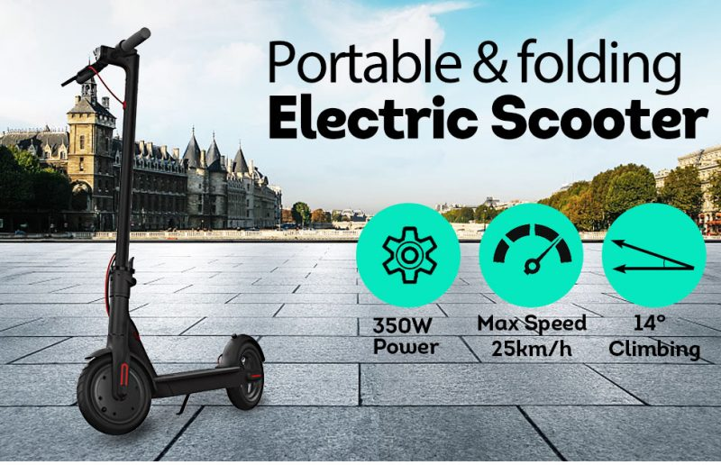 350W M365 PLUS OLED Display APP Electric Scooter Portable Foldable