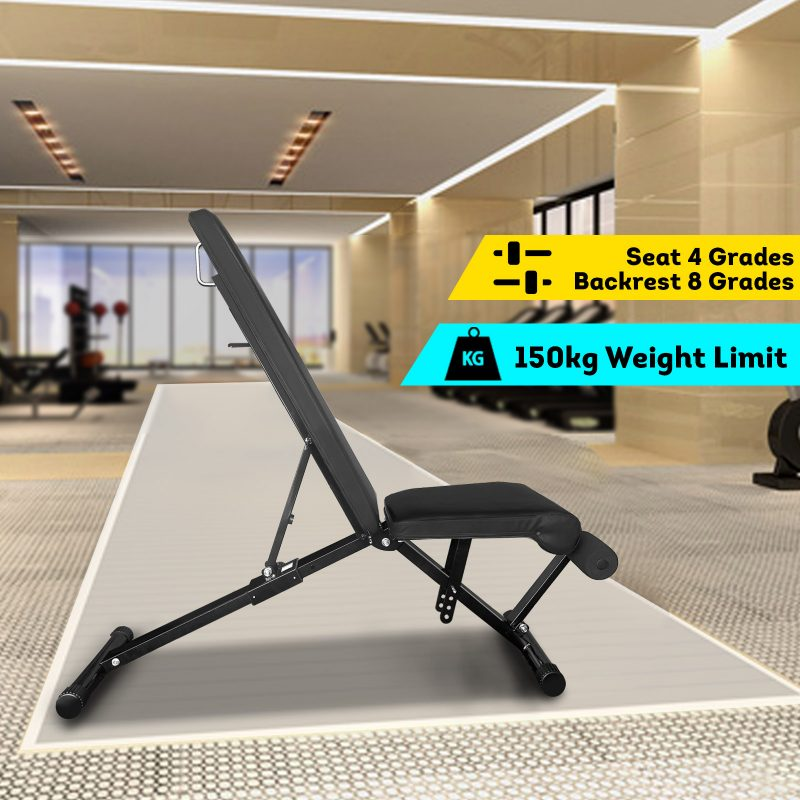 7057 Fitness Flat Bench Weight Press Equipment Home GYM