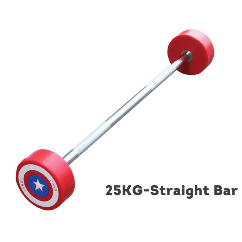 Captain America Straight Olympic Barbell Barbells Home GYM Fitness Equipment