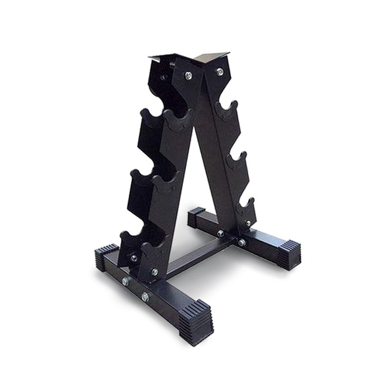 Vertical Dumbbell Dumbbells Storage Rack Stand 3-Pair Home Gym Weight Equipment