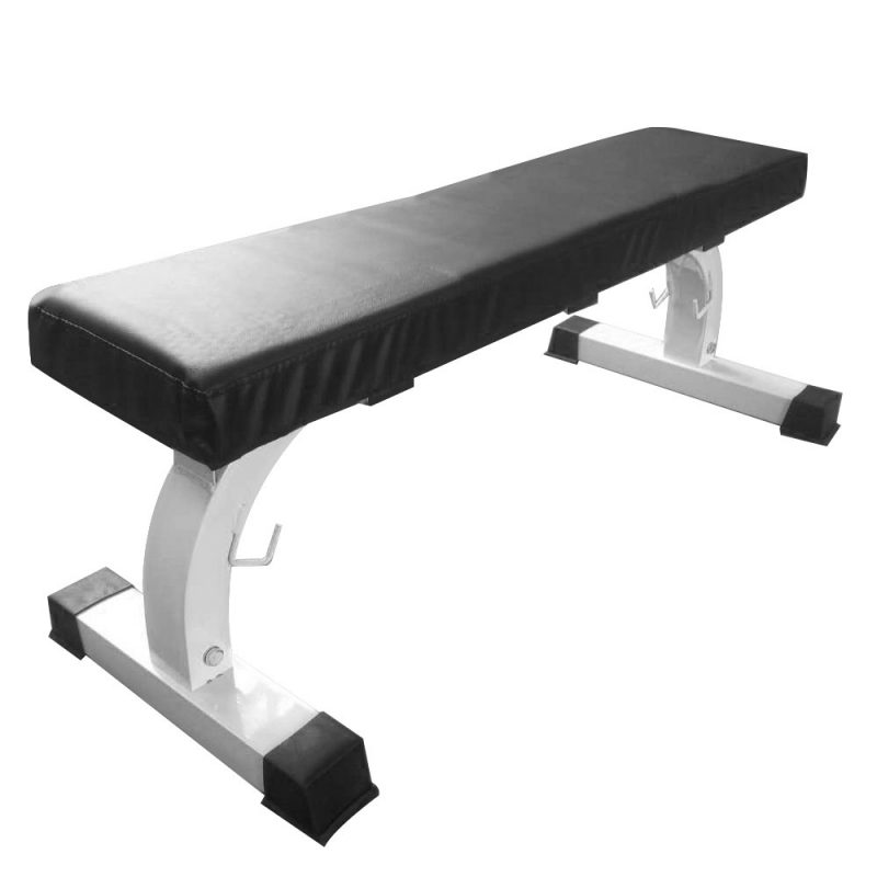 JMQ Fitness Flat Bench Weight Press Home Gym Training Exercise Fitness