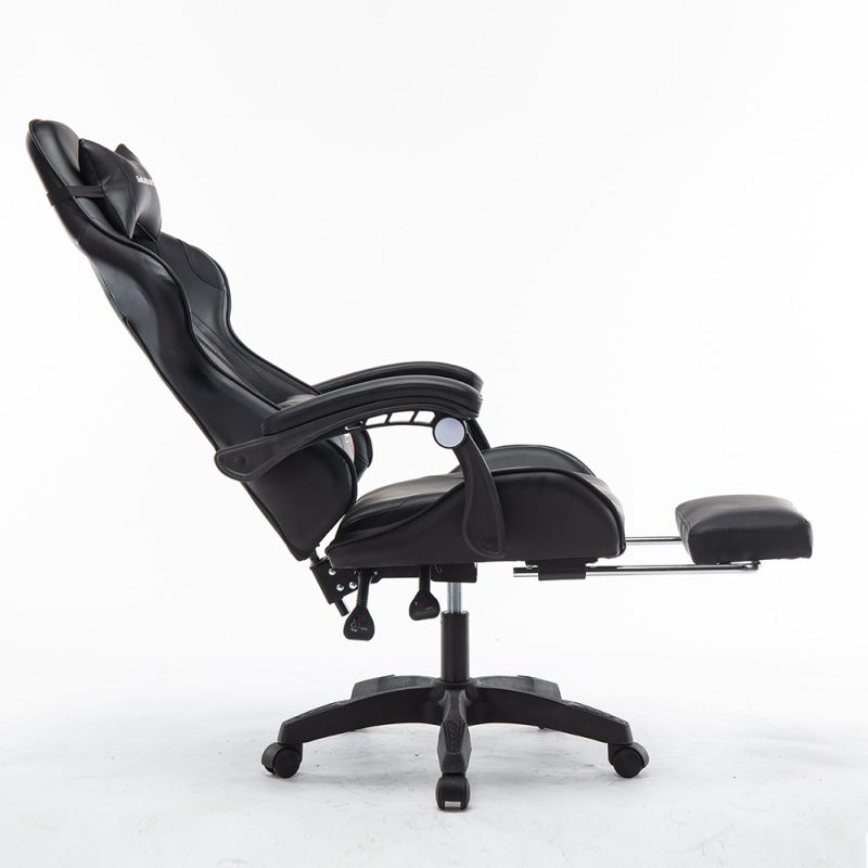 Mason Taylor Gaming Office Chair Home Computer Chairs Racing PVC Leather Seat