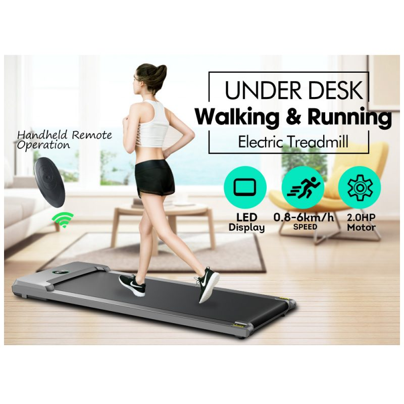 T100 2-in-1 Electric Treadmill Under Desk Home Office Exercise Walking Machine