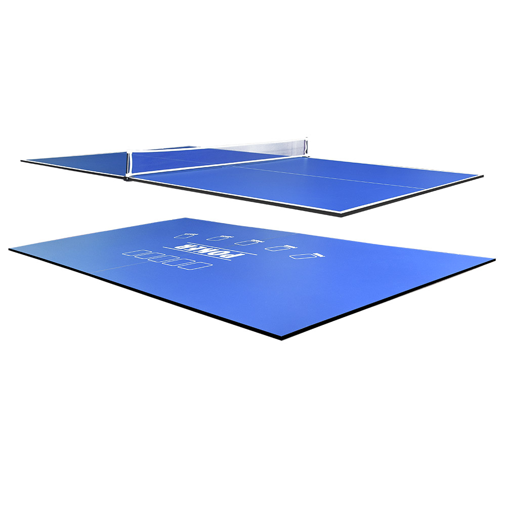 7FT 2-Piece Poker/Table Tennis Top for Pool Table
