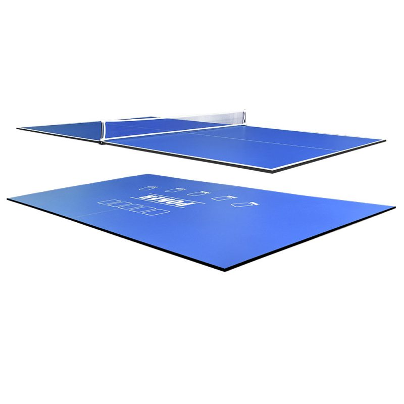 8FT 2-Piece Poker/Table Tennis Top for Pool Table