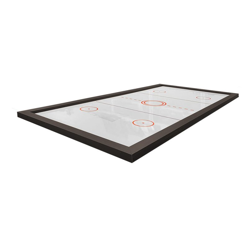Air Hockey / Poker Top with Air Powered Electronic Puck & Pushers for Pool Table