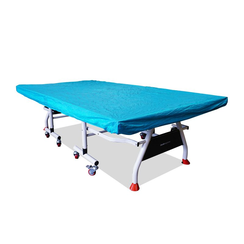 T&R sports Indoor Multifunctional Cover for Table Tennis Table Protection Cover for Ping Pong Table for Upright or Flat Position,Green