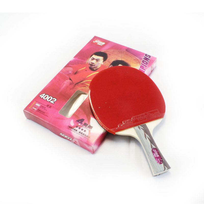 DHS 4002 4 Star Table Tennis Bat Racket Long Handle Ping Pong Paddle Shakehand