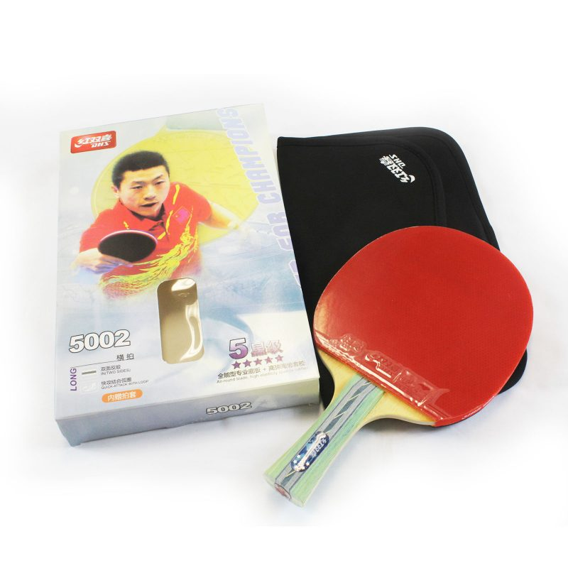 DHS 5002 5 Star Table Tennis Bat Racket Long Handle Ping Pong Paddle Shakehand