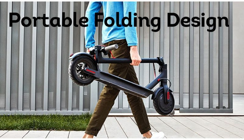M365 PRO 500W Electric Scooter Folding Motorised Scooters Black