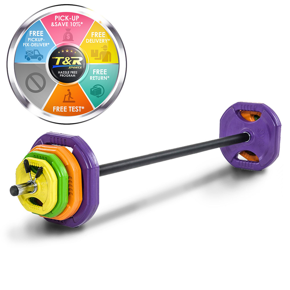 Colorful Barbells 40kg Weight