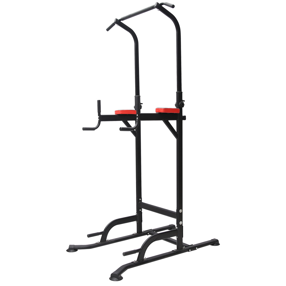 T055 Pull Up Chin Up Knee Raise Workout Station Men Women Exerise Home GYM Fitness