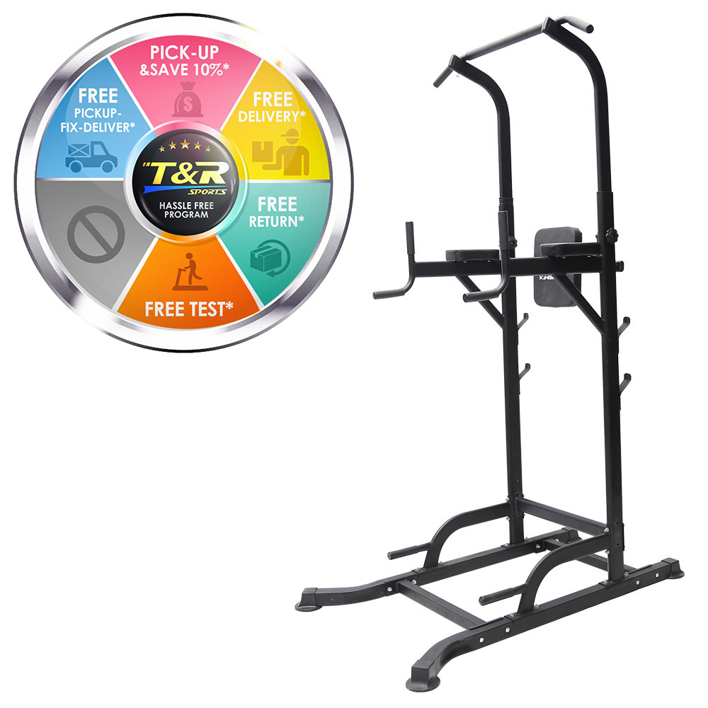 T056 Pull Up Chin Up Knee Raise Workout Station Men Women Exerise Home GYM Fitness