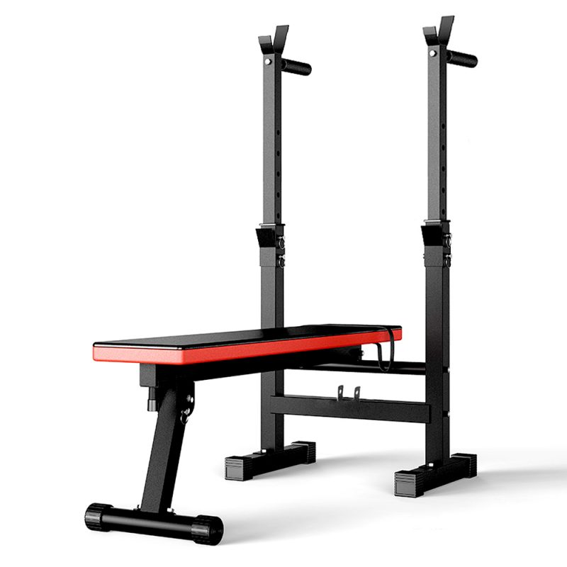 JMQ Fitness Foldable Multi-Station Weight Bench Equipment Home Gym Workout