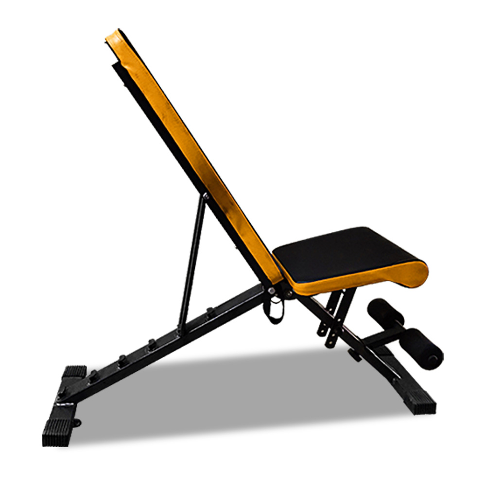 JMQ Fitness RBT203 Foldable FID Weight Bench
