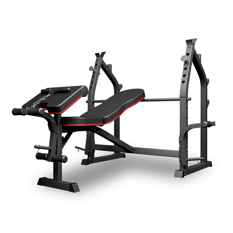 JMQ Fitness RBT3017 Multi-Station Weight Bench Press Fitness Incline Gym Workout