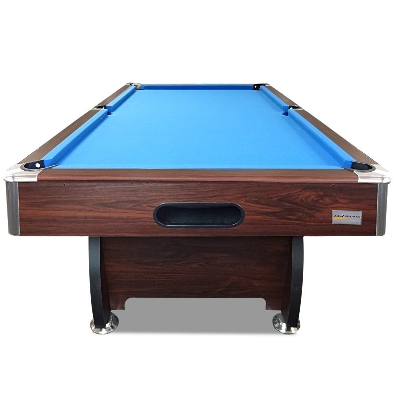 7FT MDF Pool Snooker Billiard Table with Accessories Pack, Walnut Frame
