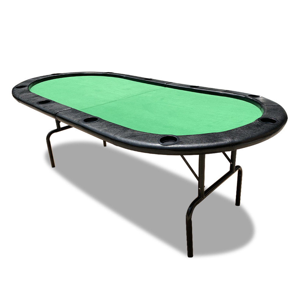 MDF Foldable Poker Table 10 Players Gaming