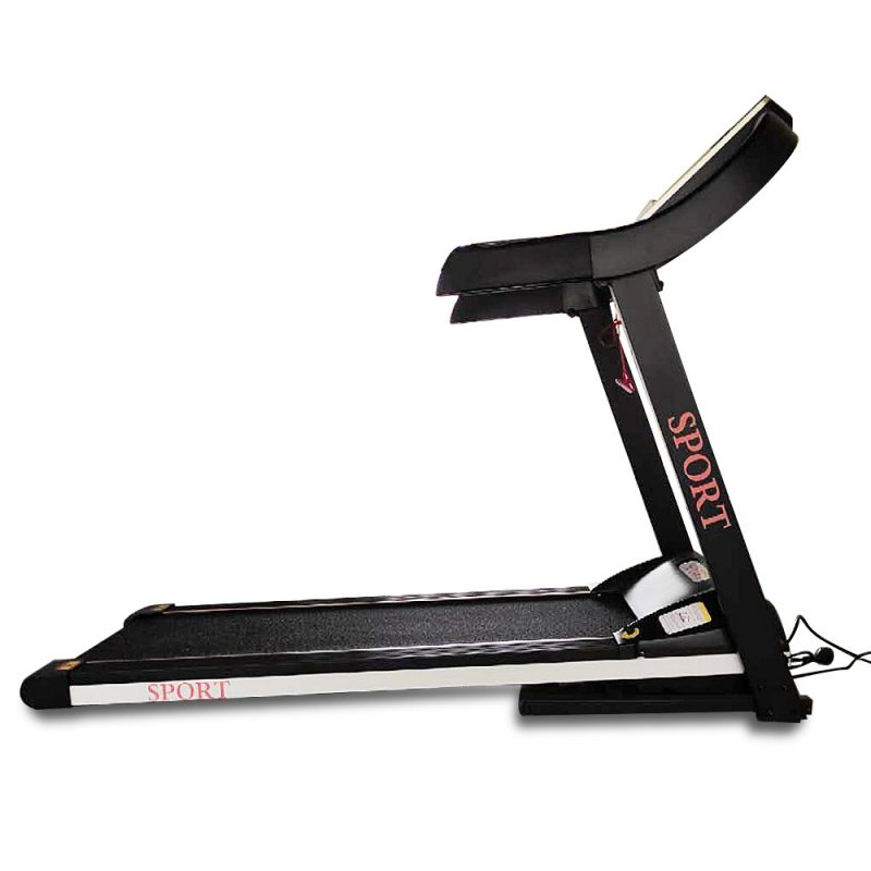 JMQ Fitness T600 2.5HP Foldable Electric Treadmill Home Fitness Workout Machine Bluetooth