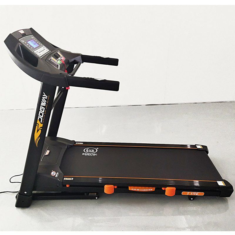 Jogway T15C 3.0HP Foldable Electric Treadmill Home Fitness Running Machine MP3