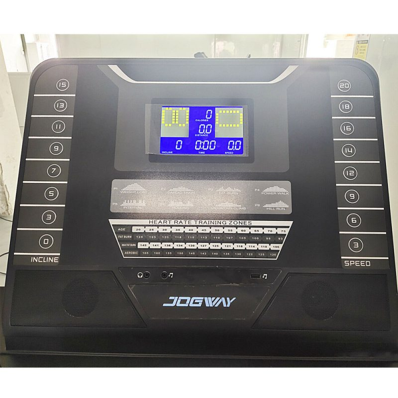 Jogway T18C2 4.0HP Foldable Electric Treadmill Home Fitness Machine Gym Bluetooth