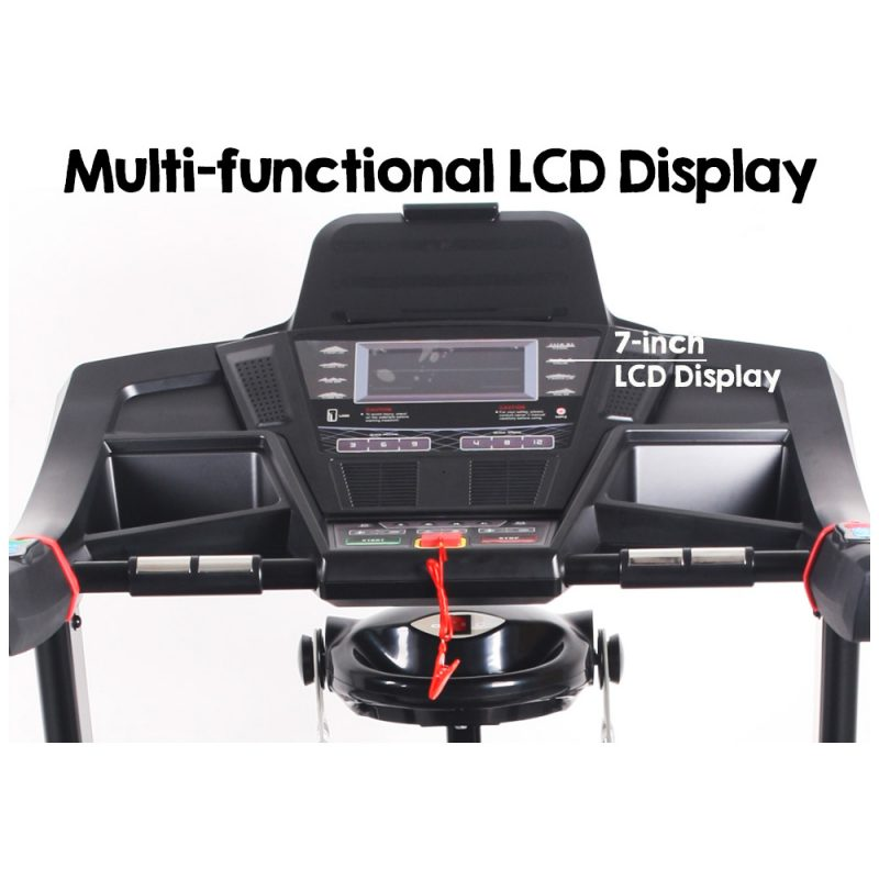 Jogway T26CLM 3.5HP Foldable Electric Treadmill w/ Multifunctional Accessories