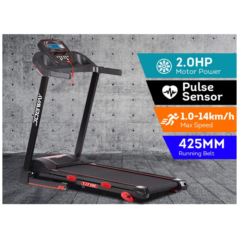 JOGWAY TJ710E 2.0HP Electric Treadmill Foldable Manual Incline Home Gym Exercise Machine