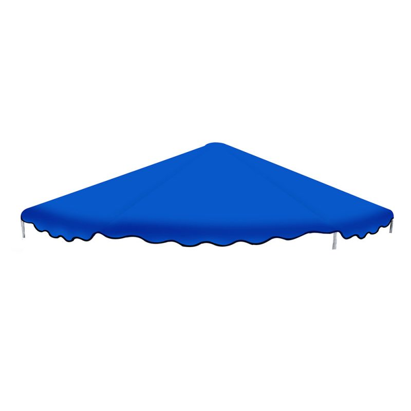 14FT Flat Trampoline Roof Cover Kids Shade Removable Outdoor Sun Protection
