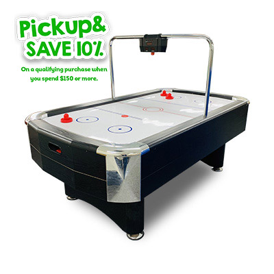 T&R sports AH08 7FT Air Hockey Table with Bridge Electronic Scorer