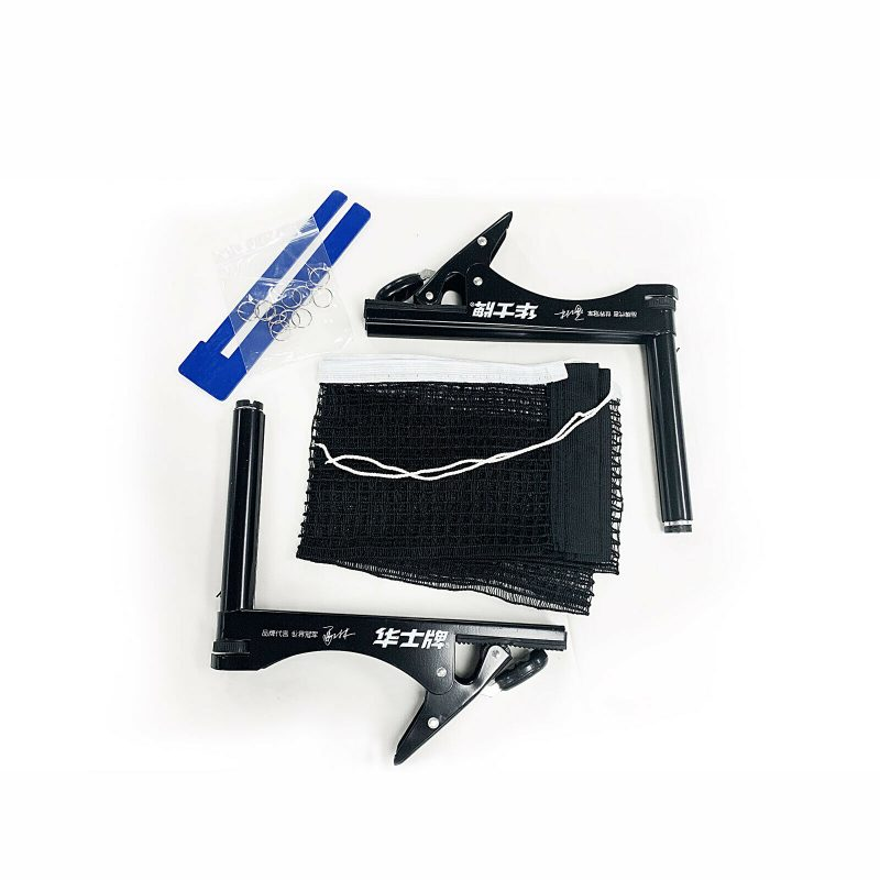 New Table Tennis Ping Pong Clamp Net & Post Set
