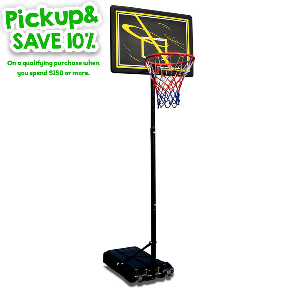 Dunk Master S018F-260 Basketball Stand System Ring Height Adjustable 2.60M