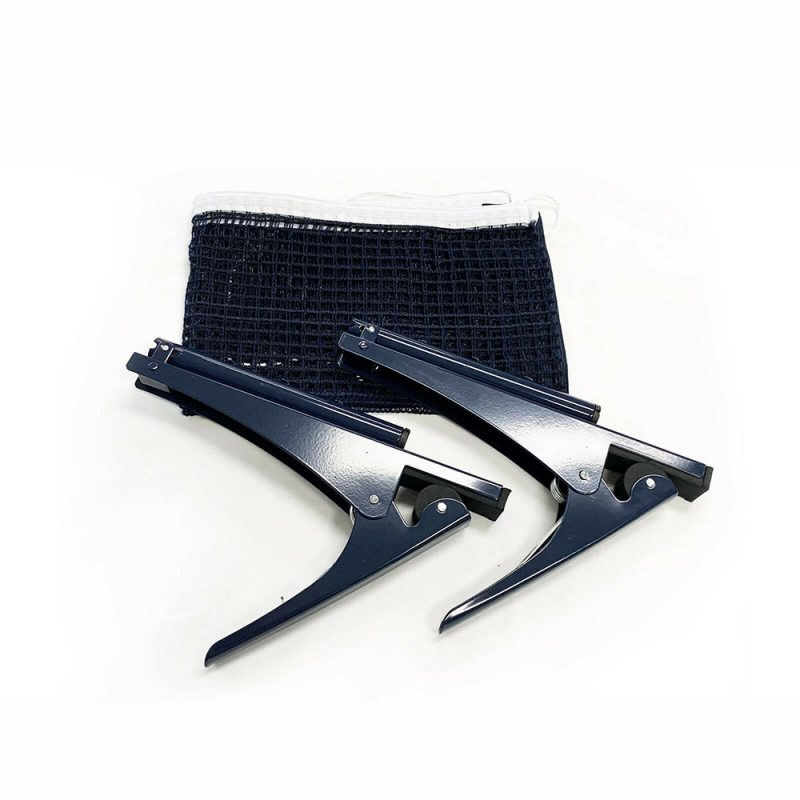 Table Tennis Ping Pong Clamp Net & Post Set