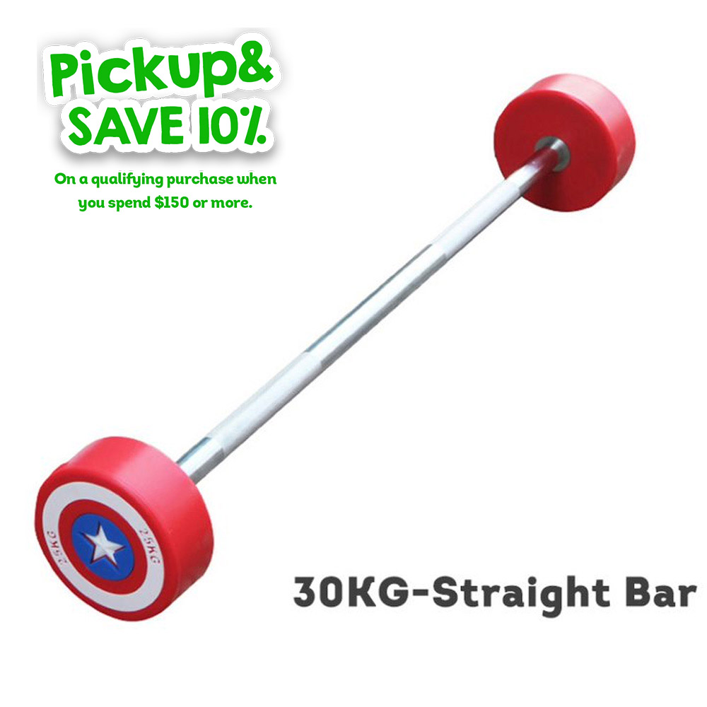 Straight Olympic Barbell Barbells