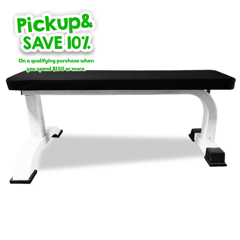 JMQ Fitness RBT105 Flat Bench Weight Press