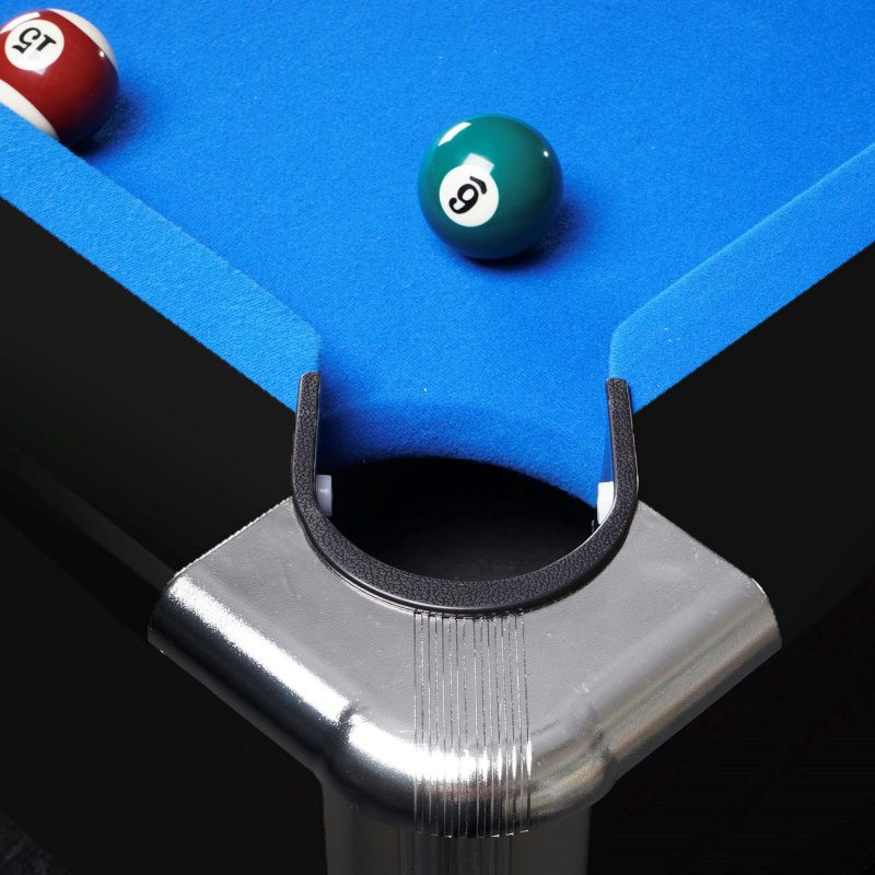 8FT LED Snooker Billiard Pool Table with Free Accessories