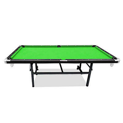 2019 New Model 8FT Green Foldable / Fold Away Pool Billiard Table Free Accessory