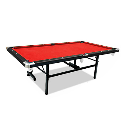 2019 New Model 8FT Red Foldable / Fold Away Pool Billiard Table Free Accessory