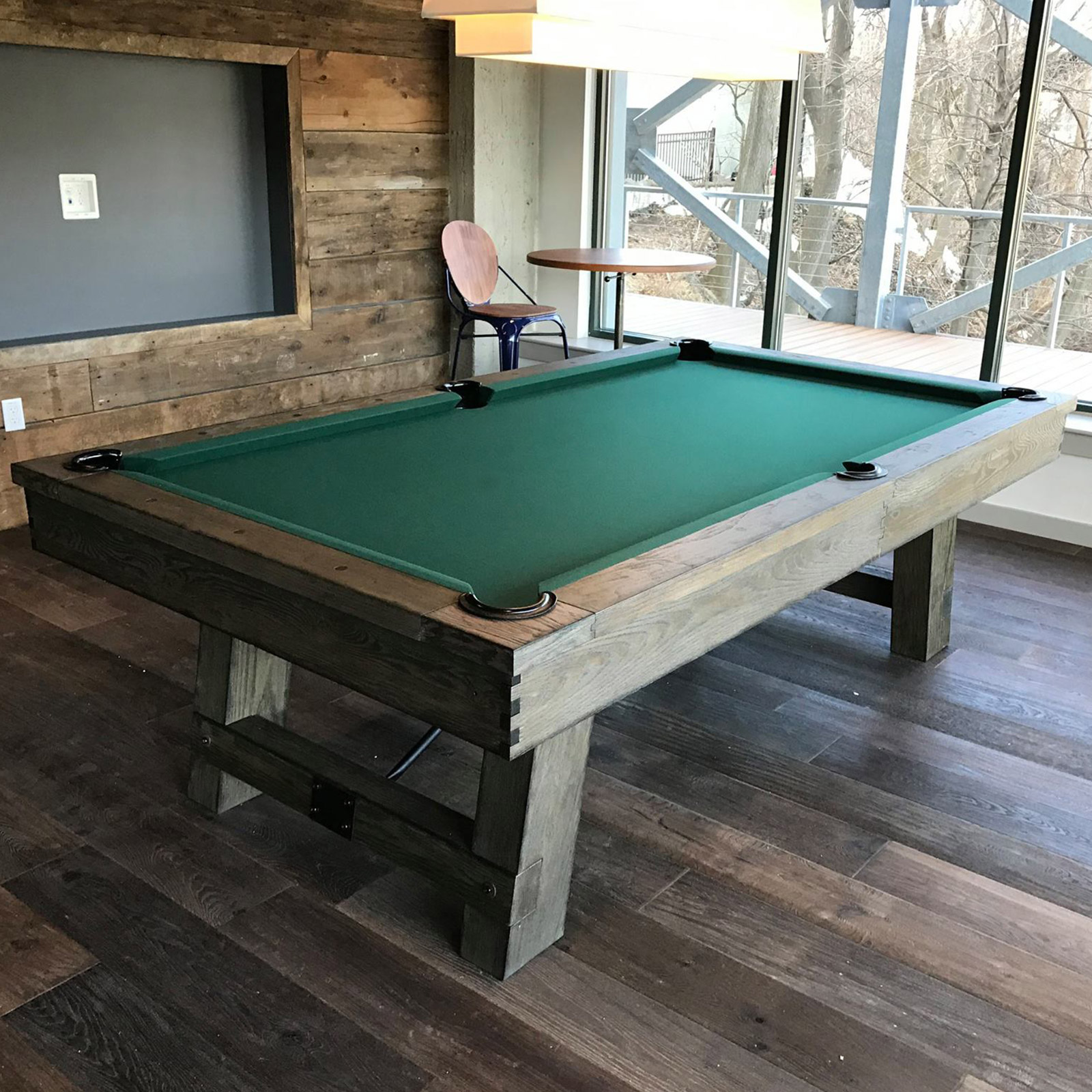 8ft slate pool table w dining top  sports leisure