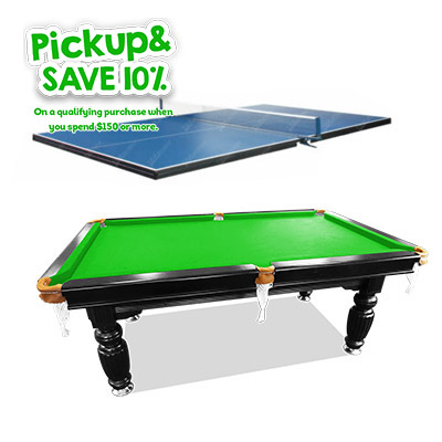 slate billiards tables with table tennis top