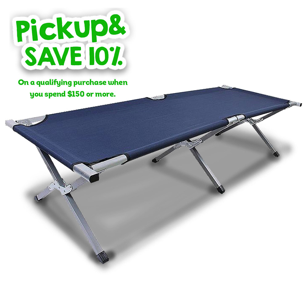 Foldable Camping Cot Stretcher Bed