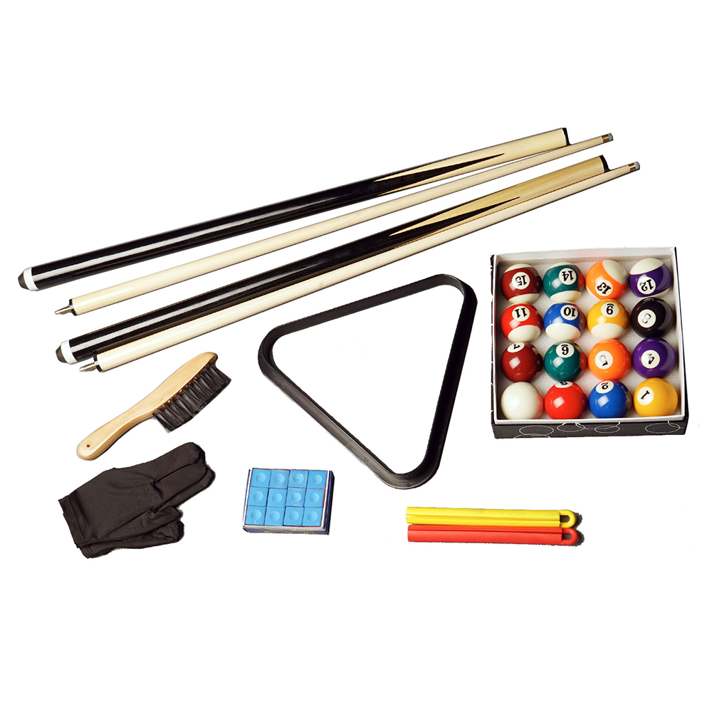 COMPACT BILLIARDS SNOOKER POOL TABLE ACCESSORIES KIT PACKAGE FREE DELIVERY