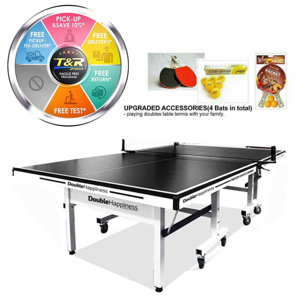 Double Happiness Indoor Table Tennis Table