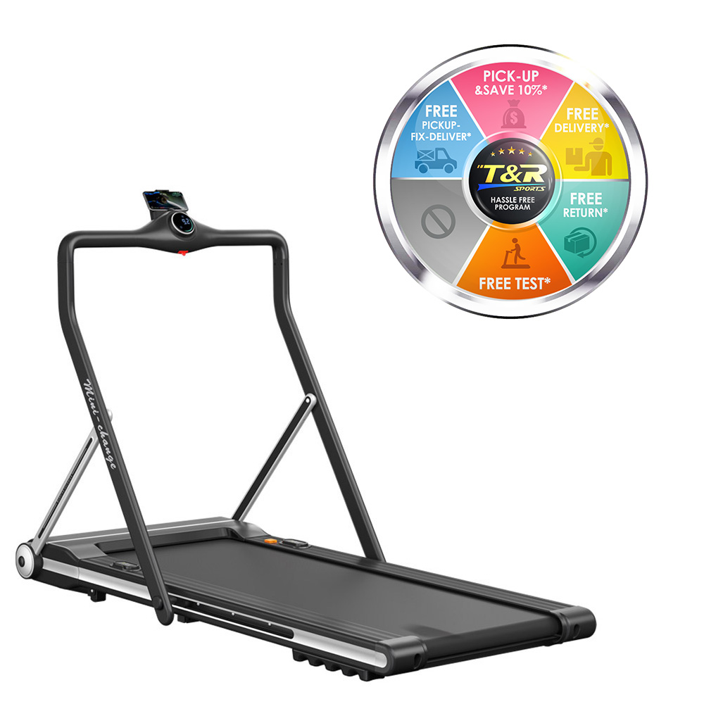 Portable home treadmill walking and running