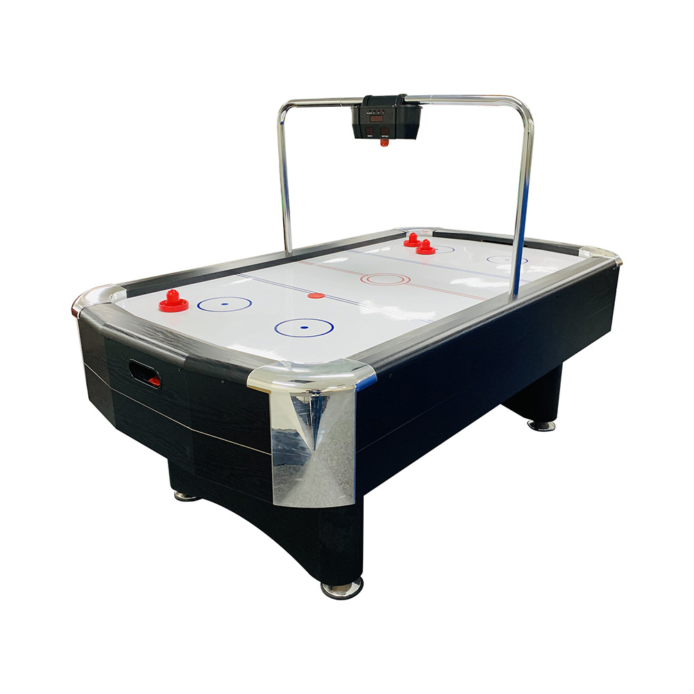 AH08 7FT Air Hockey Table with Bridge Electronic Scorer