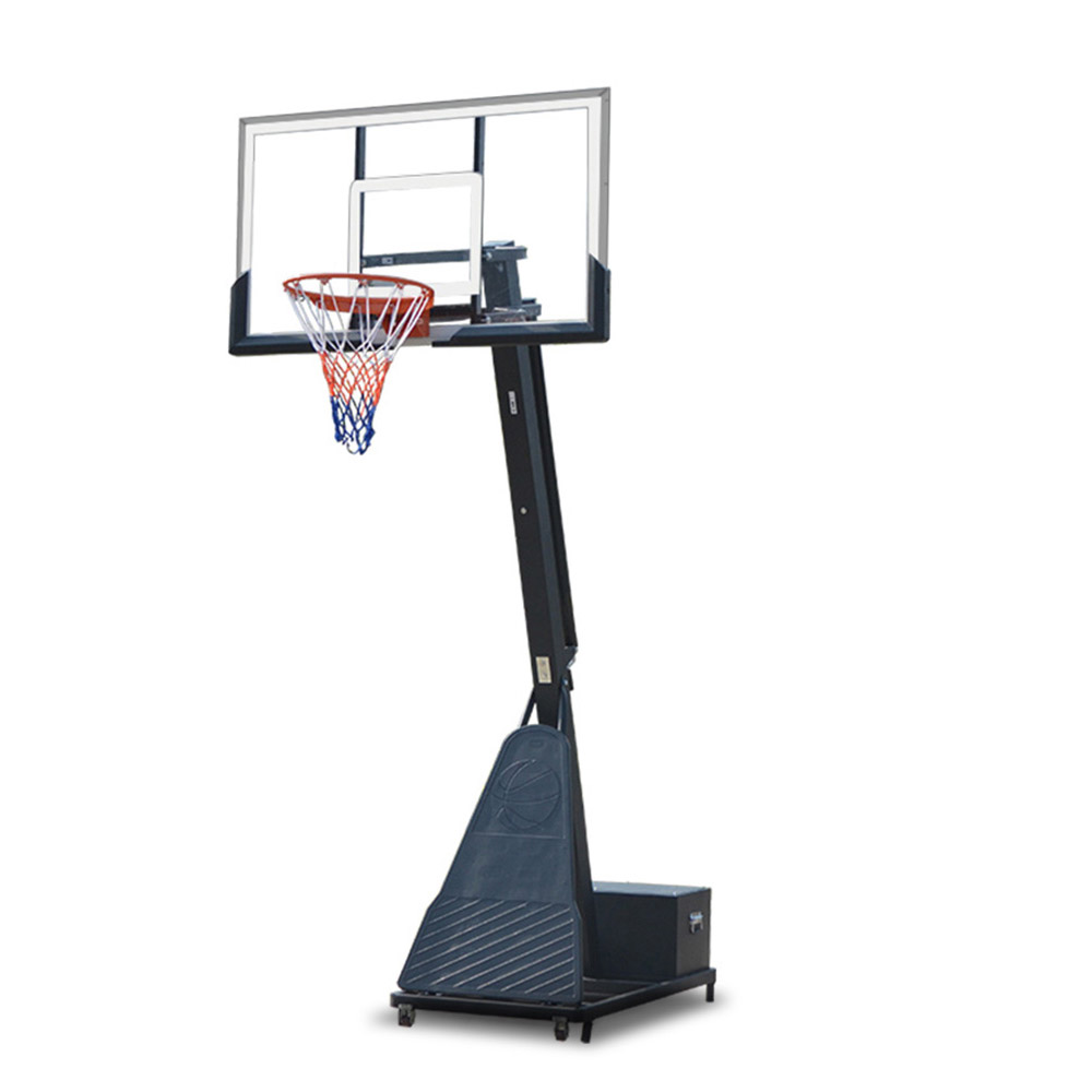 Basketball Hoop Ring Stand System With Removable ToolBox