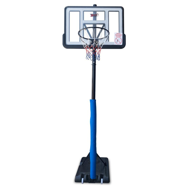 3.05M Dunk Master M021A2 Basketball Hoop System Height Adjustable Rim Kid White