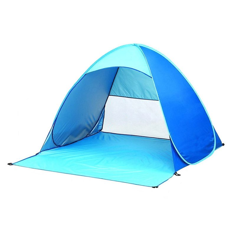 1-2 Person Pop Up Outdoor Camping Beach Tent Sun Shade Portable UV Shelter
