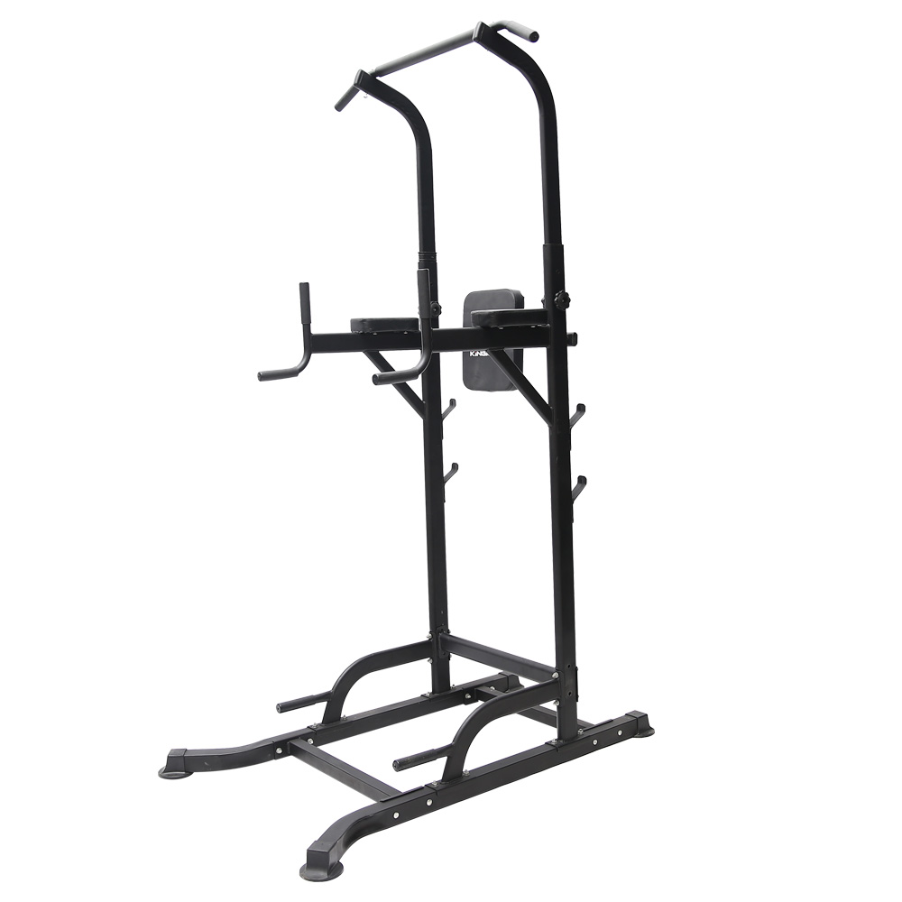 T056 Pull Up Chin Up Knee Raise Workout Station Men Women Exercise Home GYM Fitness